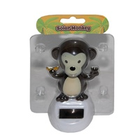 10cm Grooving Monkey Solar Powered Great for the Car, Office or Kitchen