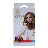 Hair Chalk 12pce DYI Temporary Hair Colour Dye The Latest Thing Out
