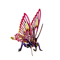 Kids 3D Insect Butterfly Puzzle, Educational and Fun, Thinking Puzzles MQ009