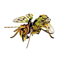 Kids 3D Insect Vespid Puzzle, Educational and Fun, Thinking Puzzles MQ009