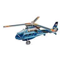 Kids 3D Blue Helicopter Puzzle, Educational and Fun, Thinking Puzzles MQ009