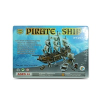 Kids 3D Megga Puzzle Pirate Ship, Educational and Fun, MQ012
