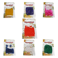 10g Crystal Soil Gel Water Beads Jelly Balls, Vibrant Colours, Keep Flowers Fresh