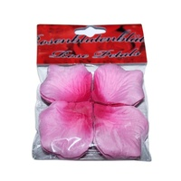 2 x 240 Scented Light Pink Rose Petals 5x5cm Weddings,Valentines Day,Party Theme