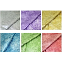 20pce 60x60cm Fine Fibrous Organza Glass Paper Florists Craft Gift Wrap
