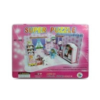 Kids 3D Super Puzzle Doll House, Educational and Fun, Thinking MQ010