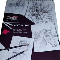 Sketch Book 160gsm 24 Sheets A3 160GSM Acid Free