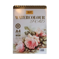 Watercolour Pad 180gsm 24 sheets A4 Acid Free for Watercolour Paints