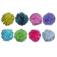 2 x 25cm Tissue Paper Pompom for Weddings, Birthday, Xmas, Events