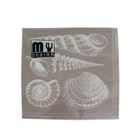 20 Pack Sea Shells Natural Design 2 ply Premium Party Napkins 33x33cm MQ-352