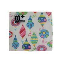 20 Pack Colourful Party Decorations Design 2 ply Premium Party Napkins 33x33cm MQ-355
