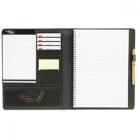 B - Cambridge by Mead A4 Business Note Book 100 Pages PU Leather
