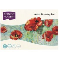 Derwent Academy A3 Drawing Pad Landscape Acid Free 110gsm 50 Pages