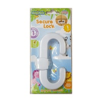 1 x Secure Safety Lock 12cm - Baby Safety