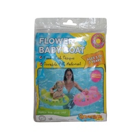1 x PINK - Safety Baby Boat 67x45cm