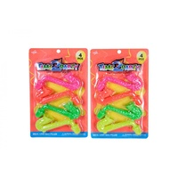 4pce Saxophone - 11.cm. Kids Party Loot Bag Fillers.