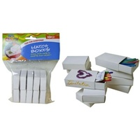 2 x 10 pce match boxes white, scrapbooking & art and craft (2 Packs)