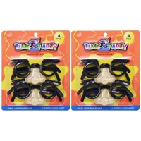 4pce Disguise Set. 11.5cm Wide. Kids Party Loot Bag Fillers.