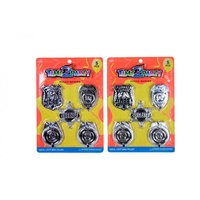 5pce Police Badges. Assorted. Kids Party Loot Bag Fillers.