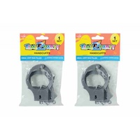 1pce Toy Handcuffs with Key, great for facy dress or loot bag filler
