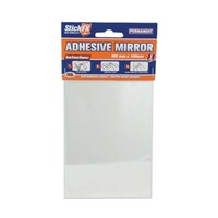 Shower Mirror 10x14cm Self Adhesive and Shatter Proof for Safety