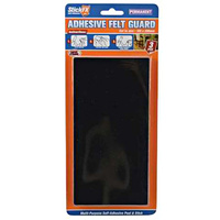 3pce Felt Adnesive 10x20cm excellent for furniture protection for easy glide