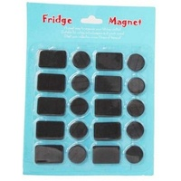 20pce Assorted Craft Magnets