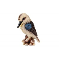 18cm Kookaburra Figurine on Tree, Australiana, Souvenir