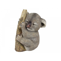 25CM Sleeping Koala Holding onto Tree Realistic Looking