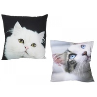 40cm Cat Picture Cushion, Decorative Pillow Display, Made of Polyester