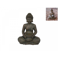 30cm Rulai Buddha With Holder For offerings or Candle Holder Antique Style