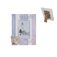 "1pce 24cm ""Beach"" Theme Photo Frame, with Anchor and Shells"