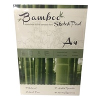 Bamboo Sketch Pad A4, 50 Sheets 105Gsm, Acid Free, Bamboo Fibre For Sketching