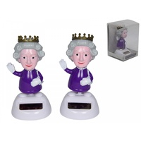 10CM Dancing Queen Elizabeth Grooving Solar Powered