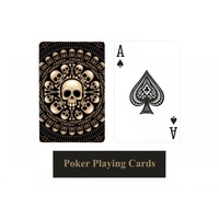 Standard Size Skull Gothic Play Cards Great for Poker or Any Card Cames