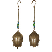 1pce 40cm Hanging Buddha Bell in Copper Design