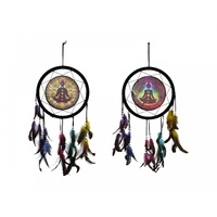 33cm Chakra Design Dreamcatcher, Comes in Two Designs, Home Deco