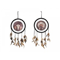 33cm Tribal Design Dream Catcher, Comes in Two Designs, Home Deco