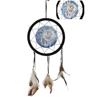 25cm 3D Tiger Feature Dream Catcher, Unique Decor