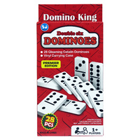 Pack of 28pce Double Six Dominos, Premier Edition