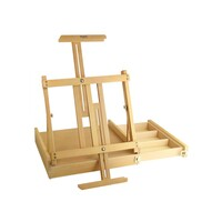 Mont Marte Big Desk Easel w/box - Beech
