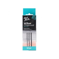 Mont Marte Willow Charcoal Pkt 12