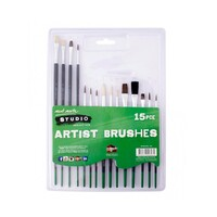 Mont Marte Silver Series Paint Brush Set 15pce