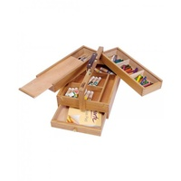 Mont Marte Multi-Purpose Art Box Wood