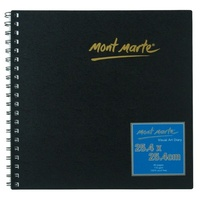 Mont Marte Visual Art Diary 25.4x25.4cm 80 Page