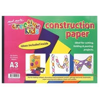 Mont Marte Creative Kids Construction Paper A3