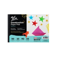 Mont Marte Creative Kids Construction Paper A5 50 sht