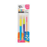 Mont Marte Chubby Brushes 3pce Kids Art and Craft Supplies
