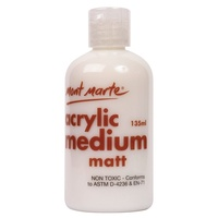Mont Marte Acrylic Medium - Matte 135mls