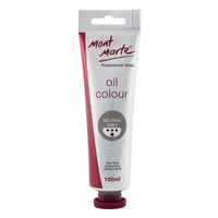 Mont Marte Oil Paint 100ml - Neutral Grey